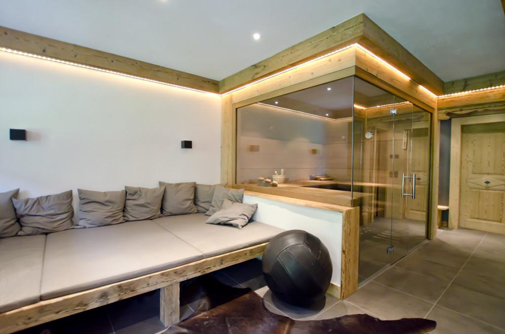 Sauna und Lounge