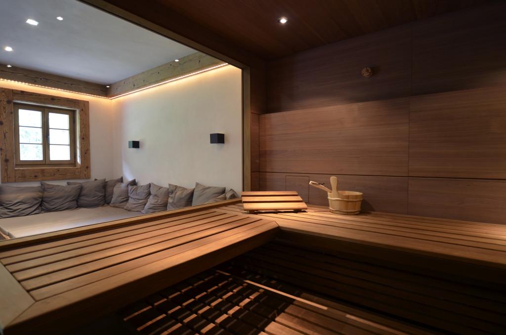 Sauna Innenausbau